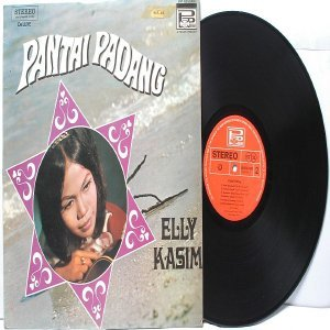 Malay Indon  60s-70s Pop ELLY KASIM Pantai Padang  LP Phillips Deluxe