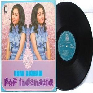 Malay Indon  70s Pop ERNI DJOHAN Pop Indonesia LP LIFE HM 1183