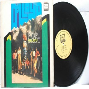Malay  Indon 70s Pop  Band D'LLOYD vol. #2 LP Remarco
