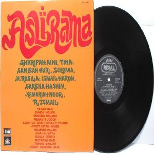 Malay  60s - 70s Pop  Compilation ASLI RAMA Saloma SAHISAH HURI Sharifah Aini EMI LP