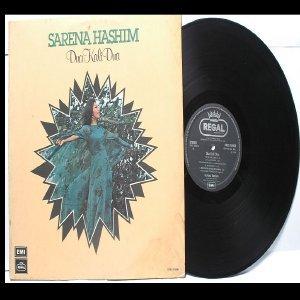 Malay  70s Pop  Singer SERENA HASHIM Dua Kali Dua REGGIE VERGHESE EMI LP 1976
