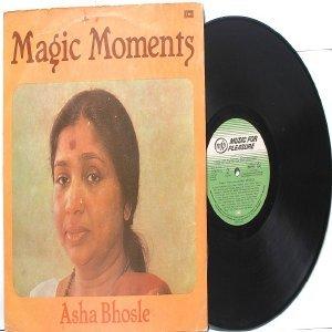 BOLLYWOOD LEGEND Asha Bhosle MAGIC MOMENTS EMI LP