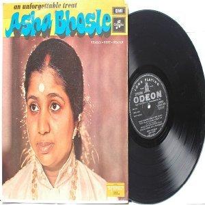 BOLLYWOOD LEGEND Asha Bhosle UNFORGETTABLE  EMI Odeon LP 1971