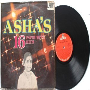 BOLLYWOOD LEGEND Asha Bhosle 16 FAVOURITE HITS India LP