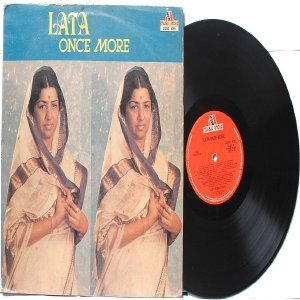 BOLLYWOOD LEGEND Lata Mangeshkar  ONCE MORE  India   LP