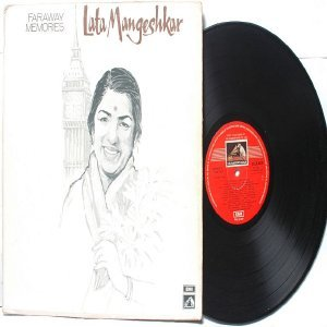 BOLLYWOOD LEGEND Lata Mangeshkar  FARAWAY MEMORIES  EMI India HMV LP 1974