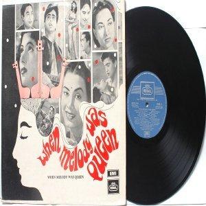 BOLLYWOOD LEGEND Lata Mangeshkar  WHEN MELODY WAS QUEEN EMI Regal LP 1969