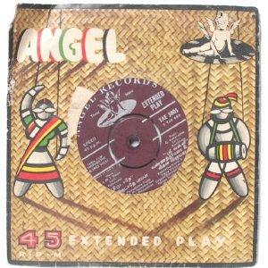 "BOLLYWOOD INDIAN  Pathai Theriyuthu Par T.M. SOUNDARARAJAN  7"" 45 RPM EMI Angel EP"
