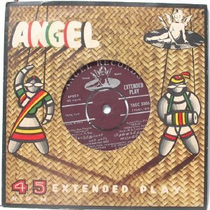 "BOLLYWOOD INDIAN  Manappanthal P. SUSHEELA Jikki  7"" 45 RPM EMI Angel EP"