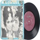"BOLLYWOOD INDIAN  Madhavi LAXMIKANT PYARELAL lata Mangeshkar  7"" 45 RPM  EMI Odeon PS EP 1969"