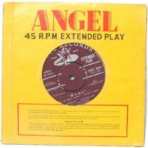 "BOLLYWOOD INDIAN Kalathur Kannamma A.M. RAJA P. Susheela  7"" 45 RPM EMI AngelEP"