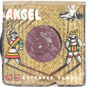"BOLLYWOOD INDIAN  Neelavanam T.M. SOUNDERARAJAN P. Susheela  7"" 45 RPM  EMI Angel PS EP 1965"