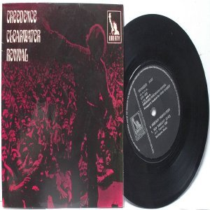 """CCR CREEDENCE CLEARWATER REVIVAL Have You Seen The Rain INTERNATIONAL ASIA 7"""" PS EP"""