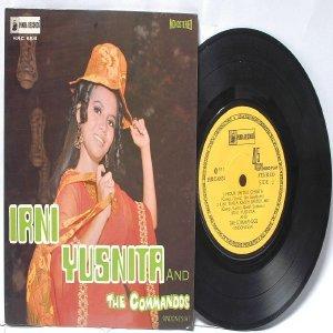 "MALAY  INDON 70s POP IRNI YUSNITA & The Commandos 7"" PS EP HRC-6831"