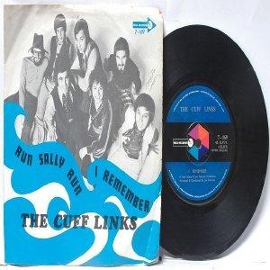 "THE CUFF LINKS Run Sally Run INTERNATIONAL Asia 7"" PS 45 RPM"