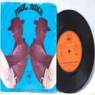 """PAUL ANKA Why Are You Leaning MALAYSIA CBA 7"""" PS 45 RPM 2-664"""