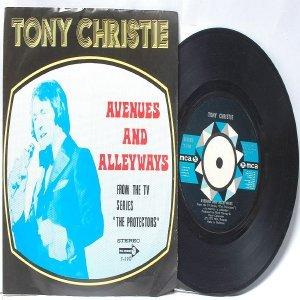 "TONY CHRISTIE Avenue & Alleyways THE PROTECTORS Malaysia ASIA MCA 7"" PS"