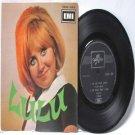 "LULU To Sir With Love SINGAPORE Asia EMI  7"" PS EP 45 RPM EEAC 1006"
