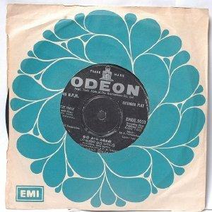 "BOLLYWOOD INDIAN  Oru Thai Makkal SOUNDARARAJAN P. Susheela  7"" 45 RPM EMI Odeon 1972"