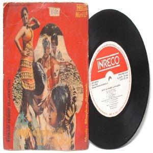 "BOLLYWOOD INDIAN Kumari Pennin Ullaththile SHANKAR-GANESH 7""  PS  EP 1980 INERCO  2378-3624"