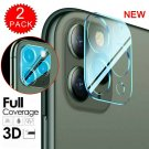 For iPhone 11 Pro Max FULL COVER HD Tempered Glass Camera Lens Screen Protector*