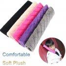 Car Shoulder Pad Seat Safety Belt Covers  Soft Plush Cushion