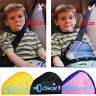 Holder Car Child Safety Cover Seat Belts Triangle Shoulder Harness Strap