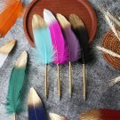 Novelty Stationery Smooth Signature Ballpoint Pens Feather Pen Writing Tool