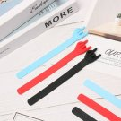Office Supply Silicone Creative Finger Point Bookmark Rock Gesture Book Marker