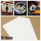 Fashion Cloth DIY Light Fabric Heat Transfer Paper T-Shirt Iron-On Painting