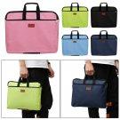 Durable Waterproof  With Handle Files Bag Handbag File Folder Double Layers