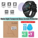 Tempered Glass Protective Film Anti Purple Light Film For Huawei Watch GT2 46mm