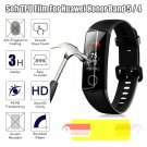 Clear TPU Protective Film Screen Protectors For Huawei Honor Band 5 4 Hydrogel
