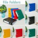 Capacity Plastic File Folders Loose-leaf Binder Document Clips Office Folder