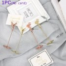 Supplies Paper Clamp Butterfly Shape Clamps Stand Place Card Photos Clips