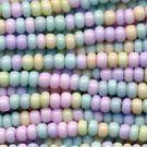 Easter Egg Colors Pastel Mix Seed Bead Size 11/0