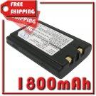 BATTERY UNITECH CA50601-1000, DT-5023BAT FOR HT660, PA600, PA950, PA966, PA967, PA970