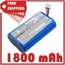 BATTERY BOSCH NL-4827HG-10, WK1350 FOR Integrus Pocket, LBB 4540, LBB4540/04, LBB4540/08, LBB4540/32