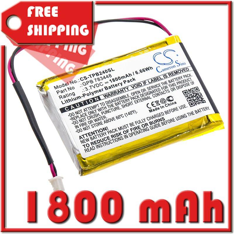 BATTERY TELEX GPB 783448 FOR PB24N, PB24ND-TX, Transmitter PB24ND-TX