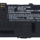 BATTERY WAY SYSTEMS BASIC56 FOR MTT 1500, MTT 1510, MTT 1531, MTT 1556, MTT 1571, MTT 1581