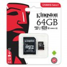 Kingston 64GB Micro SD SDXC Class 10 Authentic Memory Card