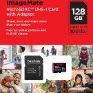 SanDisk 128GB ImageMate microSDHC UHS-1 Authentic Memory Card