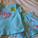 GARANIMALS Top/Short Outfit ~ Blue ~ 24M / 2T ~ NWT
