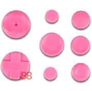 SONY PSP REPLACEMENT RUBBER BUTTONS - PINK