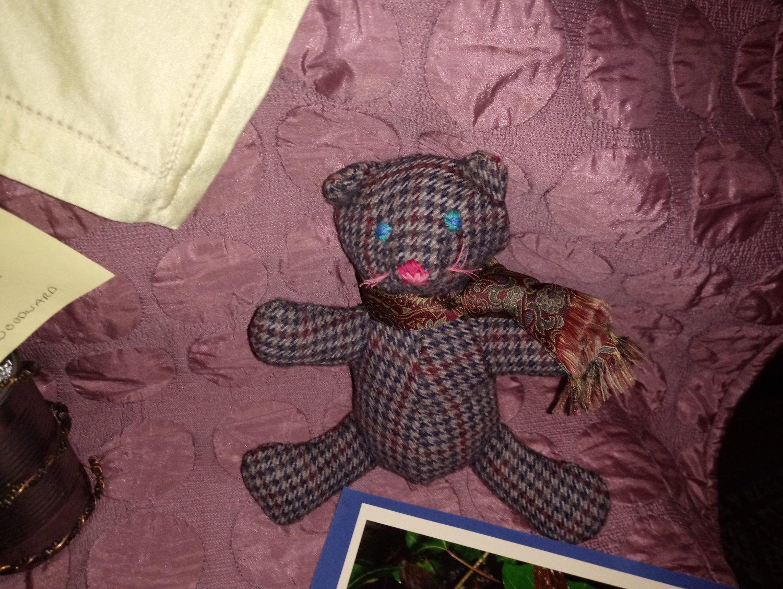 Man's Jacket Soft Toy Bear