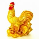 Golden Rooster with Ingots