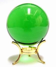 50mm Green Crystal Sphere for Growth and Expansion
