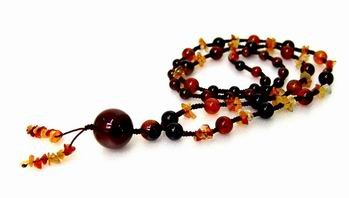 Carnelian Necklace for Happiness