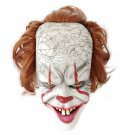 Horror Clown Joker Latex Mask Kings it Cosplay Performance Stage Props
