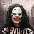 Joker Mask Todd Phillips Movie Joaquin Phoenix Cosplay Halloween Costume Scary Clown Mask